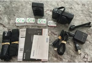 Sony DSC-RX100 M4 Cyber-shot 4K Digital Camera + Extra Accessories for Sale in Central Islip, NY
