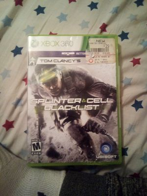 XBox Game SplinterCell Blacklist for Sale in Cleveland, MS