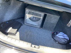 Subwoofer, Amp, Speaker 12in for Sale in Reedley, CA
