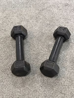 Pair of 5 pound dumbbells! Hygienic! for Sale in Springfield, VA