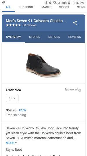Colvedro Chukka boot for Sale in Woodbridge, VA