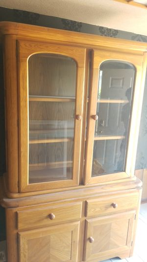 Antique display Cabinet Glass case for Sale in Durham, NC