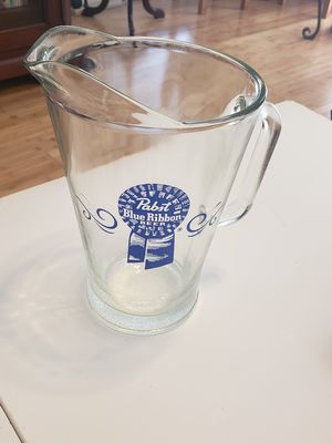 Used, PBR GLASS PITCHER for Sale for sale  Sugar Hill, GA