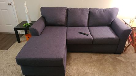 American Furniture Warehouse Gray Chaise for Sale in Parker,  CO
