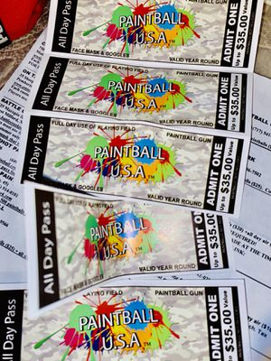 Paintball tickets for Sale in Harrisburg, PA