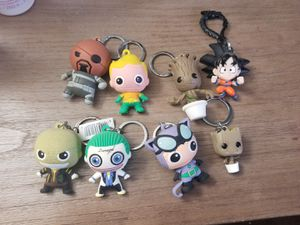 Marvel DC DBZ Keychains for Sale in National City, CA