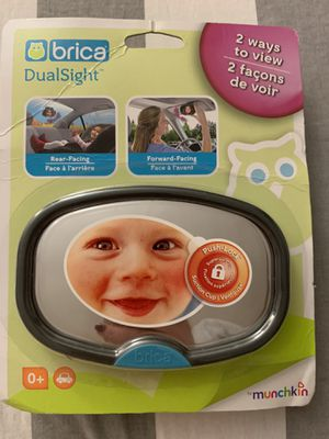 Munchkin Brica DualSight Baby Car Mirror for Sale in Brooklyn, NY