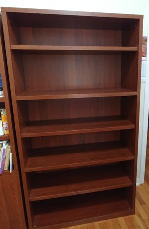 Ikea Walnut finish bookcase for Sale in Tacoma, WA