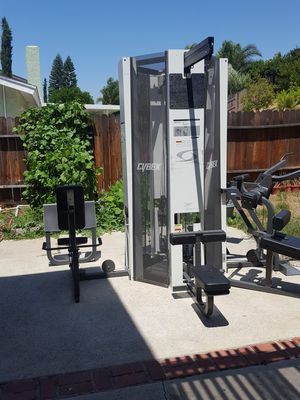 Cybex modular press 4 stack gym for Sale in Corona, CA