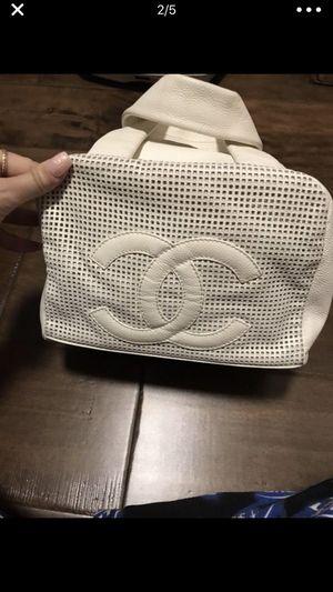 White Chanel bowling bag for Sale in Scottsdale, AZ