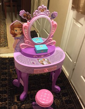 Sofia the first vanity for Sale in Manassas, VA
