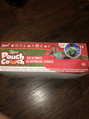 The official pouch couch for Sale in Bend, OR