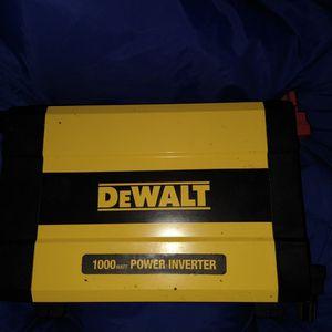 Dewalt 1000 Watt Power Inverter for Sale in Seattle, WA