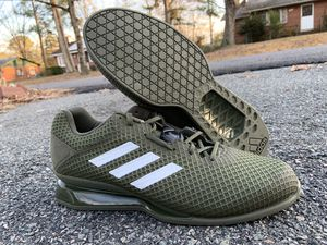 Adidas Leistung 16 II Weight lifting training shoes Sz 12.5 color Olive green for Sale in Richmond, VA