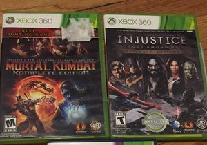 Xbox 360 games bundle for Sale in Chicago, IL