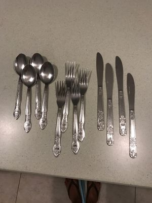 Silverware place setting for 4 for Sale in Hollywood, FL