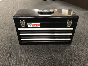 """21"""" portable 3 drawer tool box for Sale in Burbank, CA"""