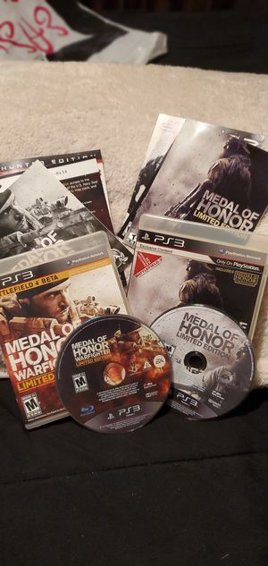 Medal of Honor Limited Edition, PS3 for Sale in Bloomfield, NJ