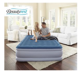 Beautyrest Silver Extraordinaire with iFlex Support and Internal Pump Raised Air Mattress, Full Size for Sale in St. Louis, MO