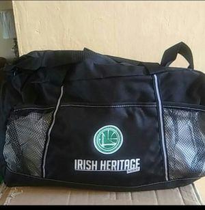 Golden State Warriors Irish heritage duffle bag for Sale in Piedmont, CA