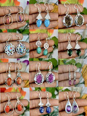 Wholesale sterling over copper gemstone earrings for Sale in Murfreesboro, TN