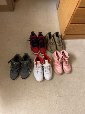 Retro Jordan's 1,4, 12s and yeezy 350s for Sale in Fayetteville, NC
