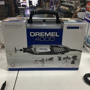 Dremel 4000 36 Accessories And 4 Attachments for Sale in Chula Vista, CA