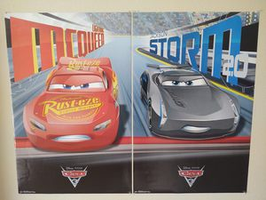 Lightning McQueen and Jackson Storm - POSTERS for Sale in Zephyrhills, FL