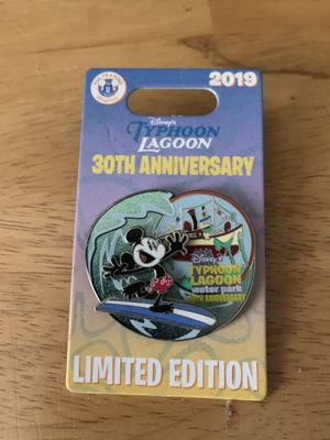 Disney's Typhoon Lagoon Limited Edition Pin! for Sale in Orlando, FL