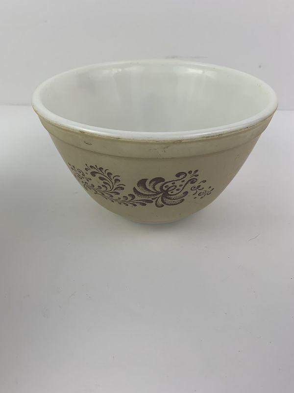 Pyrex Homestead Nesting 3 Piece Mixing Bowl Set 401 402 403 Vintage