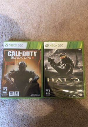 Call of Duty Black Ops 3 and Halo Combat Evolved Anniversary Unopened for Sale in Mars, PA