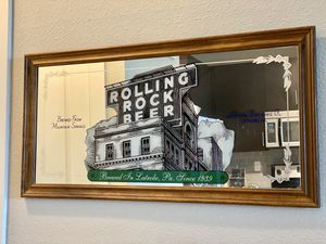 Antique Rolling Rock Mirror for Sale in Denver, CO