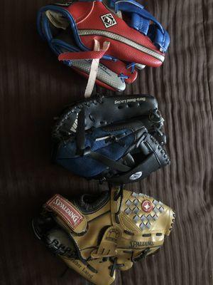 Baseball gloves for Sale in Tustin, CA