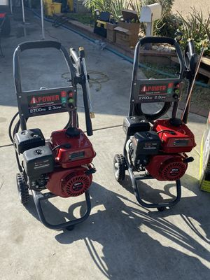 Brand new Ipower 2700 psi gas pressure washers only asking $180 a piece for Sale in La Habra, CA