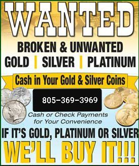 Gold bought for Sale in Oceano, CA