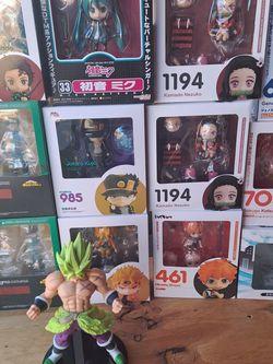 Anime Figures (DM FOR PRICES) for Sale in San Bernardino,  CA