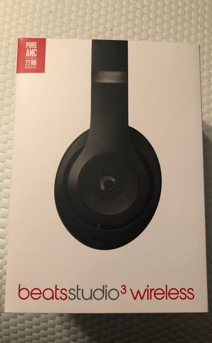 Beatsstudio3 wireless headphones for Sale in Lubbock, TX