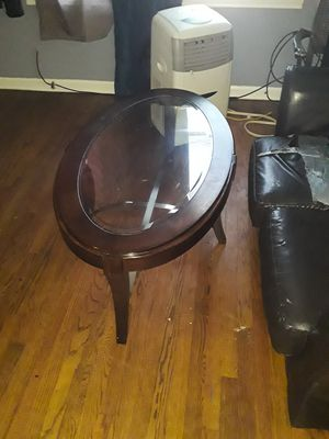 Wooden/Glass Coffee Table for Sale in Tulsa, OK