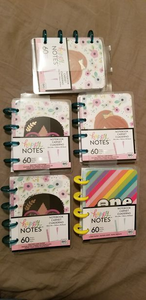 Happy Notes Notebook for Sale in Houston, TX