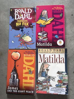 Roald Dahl books chapter book lot bundle for Sale in Clovis, CA