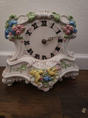 Clock, antique, ceramic for Sale in Phoenix, AZ