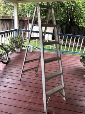 Aluminum ladder for Sale in Stockton, CA