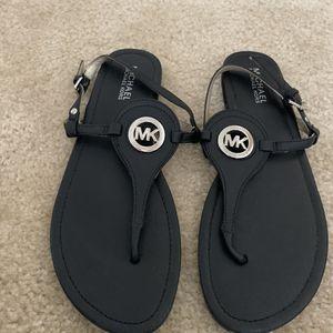 Michael Kors black sandals for Sale in Anaheim, CA