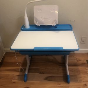 Adjustable Children's Desk With Light for Sale in San Jose, CA