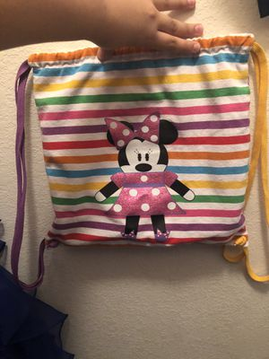 Minnie Mouse backpack ... perfect condition for kids or anyone for Sale in Cypress, TX