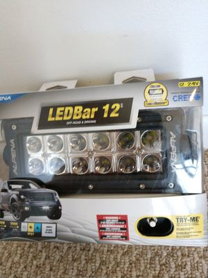Additional LED headlights. Alpena CREE LED Bar12. 12-24 Volt, 26 W, 2600 lumens. IP67. Brand new. for Sale in Plantation, FL