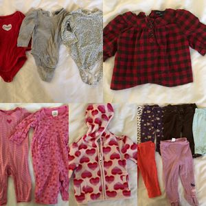 6-12 month baby girl winter clothes for Sale in Virginia Beach, VA