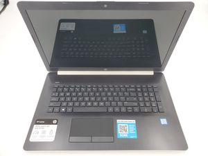 HP Notebook 17.3 HD I3-8130U 2.2GHz 4GB RAM 2TB HDD Windows 10 Model 17-by0070cl for Sale in Chesterbrook, PA