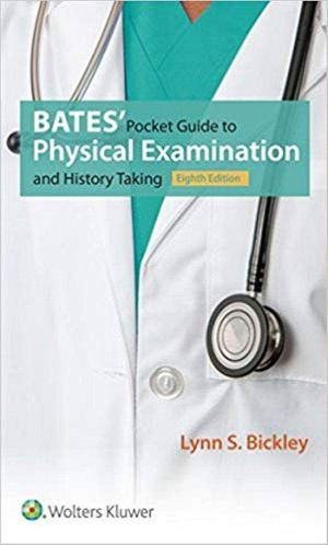 Bates' Pocket Guide to Physical Examination and History Taking 8th Edition ebook PDF for Sale in Los Angeles, CA