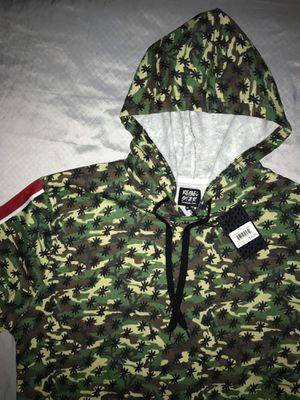 XL REBEL STAR CAMOUFLAGE HOODIE. MAKE A OFFER for Sale in Dallas, TX